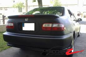 honda civic eg sedan jdm 92 95 honda civic sedan eg jdm mugen style trunk spoiler rear wing
