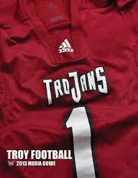 2013 troy football media guide by troy university athletics issuu