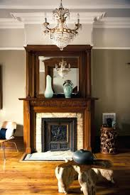 brownstone interior design project living room decor fireplace