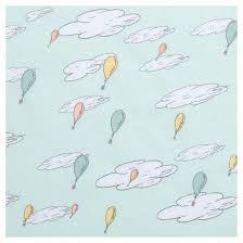 dr seuss balloons dr seuss by trend lab fitted crib sheet oh the places you ll