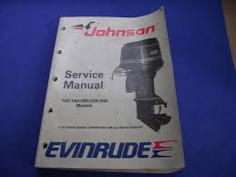 100 johnson 185 hp outboard manual evinrude tachometer