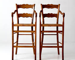 Bar Stool With Arms And Back Bar Stool With Back Etsy