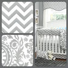 Grey Chevron Crib Bedding Set Grey And White Crib Bedding Sets U2013 Arunlakhani Info