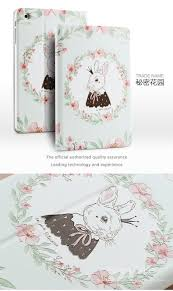designer case for ipad mini 3 smart stand case 3d embossing for