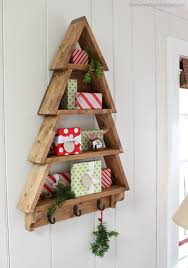 Diy Christmas Tree Pinterest Build A Tree Wall Shelf Free And Easy Diy Project And Furniture