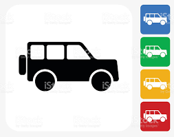 jeep vector jeep icon flat graphic design stock vector art 492252514 istock