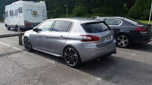 peugeot south africa spy pics show new peugeot 308 gti in full www in4ride net