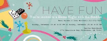 game night free online invitations