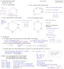missing angles in a triangle worksheet division word problem
