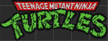 tmnt logo sprite template by d1a13lo on deviantart