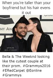 The Weeknd Hair Meme - when you re taller than your boyfriend but his hair evens it out aw