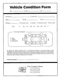car damage report template vehicle condition report fieldstation co