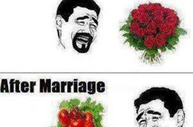 after marriage quotes before n after marriage pictures quotes memes