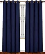 Royal Blue Blackout Curtains Blackout Curtains Ebay