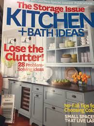sanctuary kitchen design featured in current issue of kitchen and