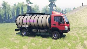 mitsubishi fuso 4x4 fuso canter fe7 v1 1 for spin tires