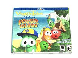 veggietales the mystery of veggie island single windows