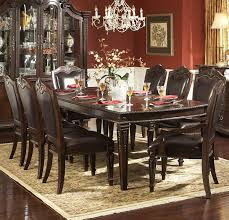 homelegance palace 108 inch dining table in brown cherry beyond