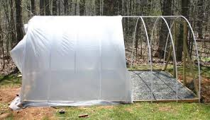 How To Build A Tent How To Build A Hoop Style Greenhouse