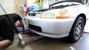 1996 2000 honda civic hx manual transmission drain and refill