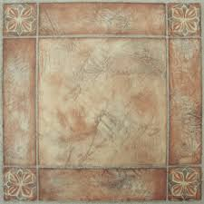 Spanish For Bathroom by Nexus Spanish Rose 12x12 Self Adhesive Vinyl Floor Tile 20 Tiles