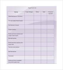 punch list template 8 free word excel pdf format download
