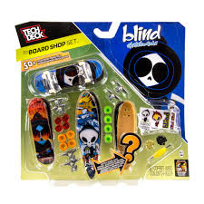 Tech Deck Ramps Deck Board Shop U2013 Blind 4 Pk