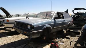 volkswagen fox 2016 junkyard find 1988 volkswagen fox station wagon