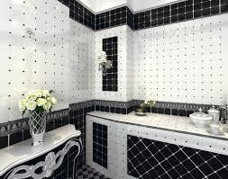 black white tile bathroom floor tags bathroom black and white