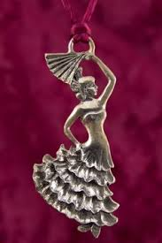seagull pewter standing ornament ballerina dated 1991 my