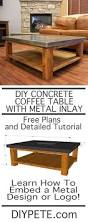 best 25 concrete coffee table ideas on pinterest making