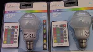 color changing light bulb with remote colour changing light bulb with remote control first review youtube
