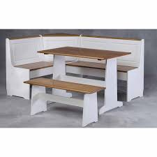 Breakfast Nooks Home Decorators Collection Ardmore 3 Piece Set Corner Breakfast