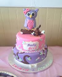 baby shower owl cakes hawaiian baby shower cakes party xyz