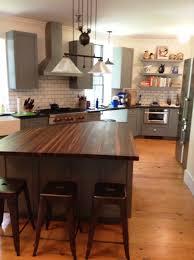Walnut Shaker Kitchen Cabinets Painted Kitchens Creative Woodworking
