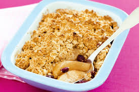 Apple Pear Crumble | and pear crumble