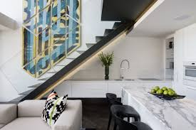 Gorgeous Small Apartment Interior Design Idea By SAOTA - Modern apartment interior design ideas