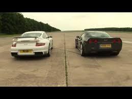 porsche 911 vs corvette porsche 911 gt2 v corvette zr1 drag race by autocar co uk