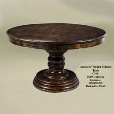 60 Inch Round Dining Table Interesting Design 60 Inch Round Pedestal Dining Table Fashionable
