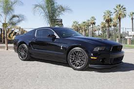2012 Mustang Shelby Ford Mustang Shelby Owners Can Boost Performance With A K U0026n