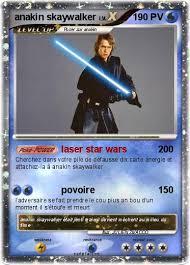 Pokémon anakin skaywalker  laser star wars  Ma carte Pokémon