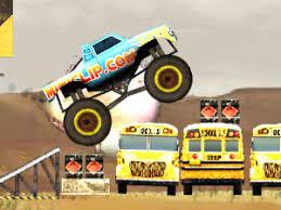 miniclip monster truck nitro 2 man or monster free game on 8iz com