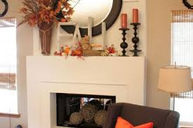 Chimney Decoration Ideas 15 Rustic Mantel Decorating Ideas For Thanksgiving Fireplace