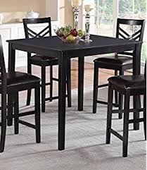 amazon counter height table amazon com jaden square counter height table tables
