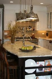 Kitchen Island With Granite Countertop Tan Kitchen Cabinets With Black Granite Countertops Transitional