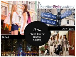 fashion stylist classes 3 day 5 day personal styling personal shopping courses in l a