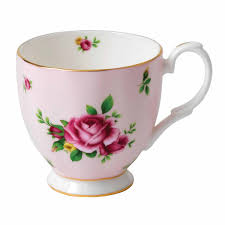 new country roses pink mug 0 3l royal albert uk