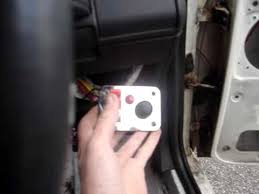 peugeot 205 ignition switch and starter button youtube
