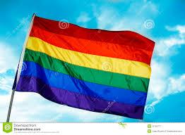 rainbow flag royalty free stock photography image 12165777
