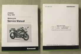 New Kawasaki Service Manual S M Repair Shop 2017 Ninja 1000